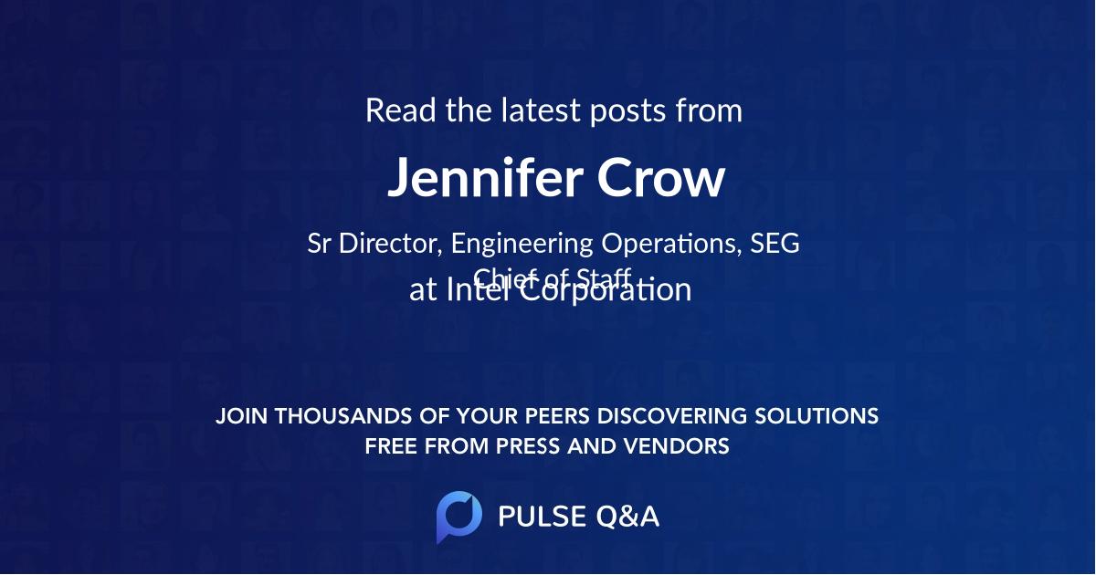 Jennifer Crow