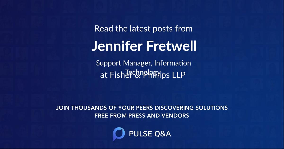 Jennifer Fretwell