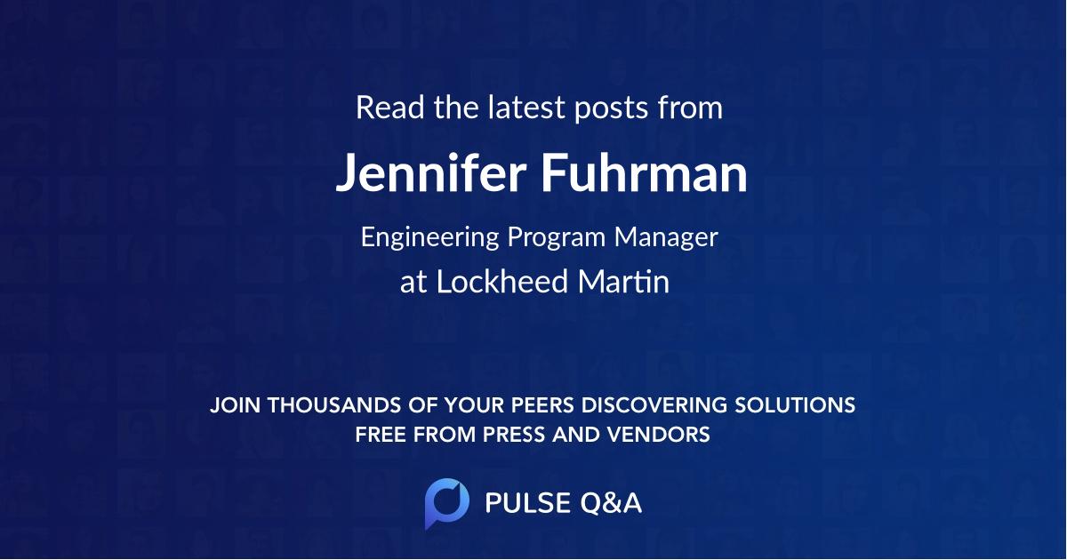 Jennifer Fuhrman