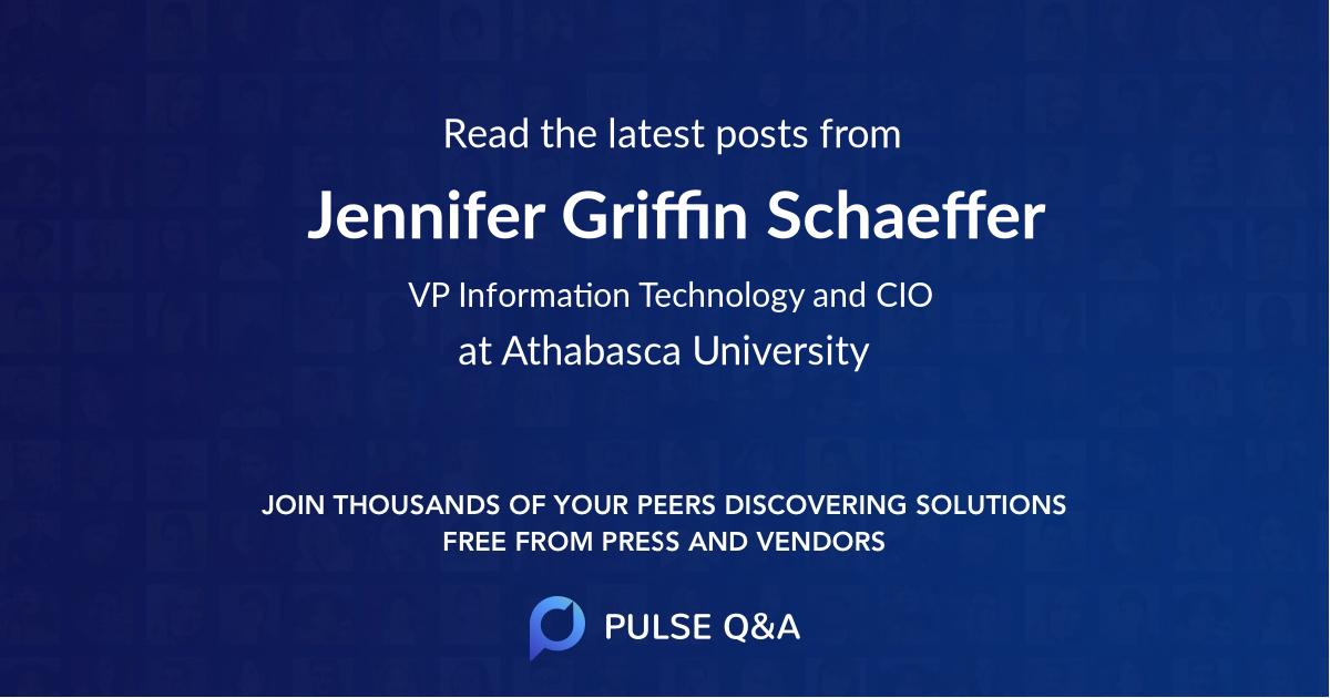 Jennifer Griffin Schaeffer