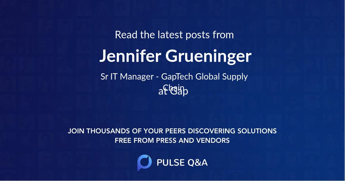Jennifer Grueninger