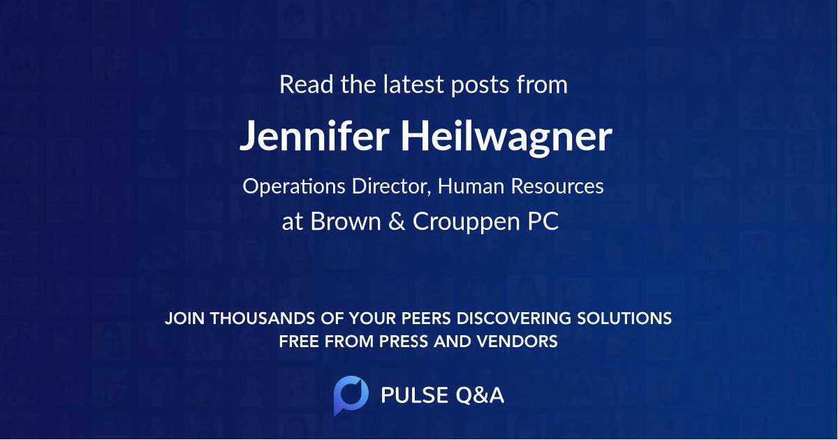 Jennifer Heilwagner
