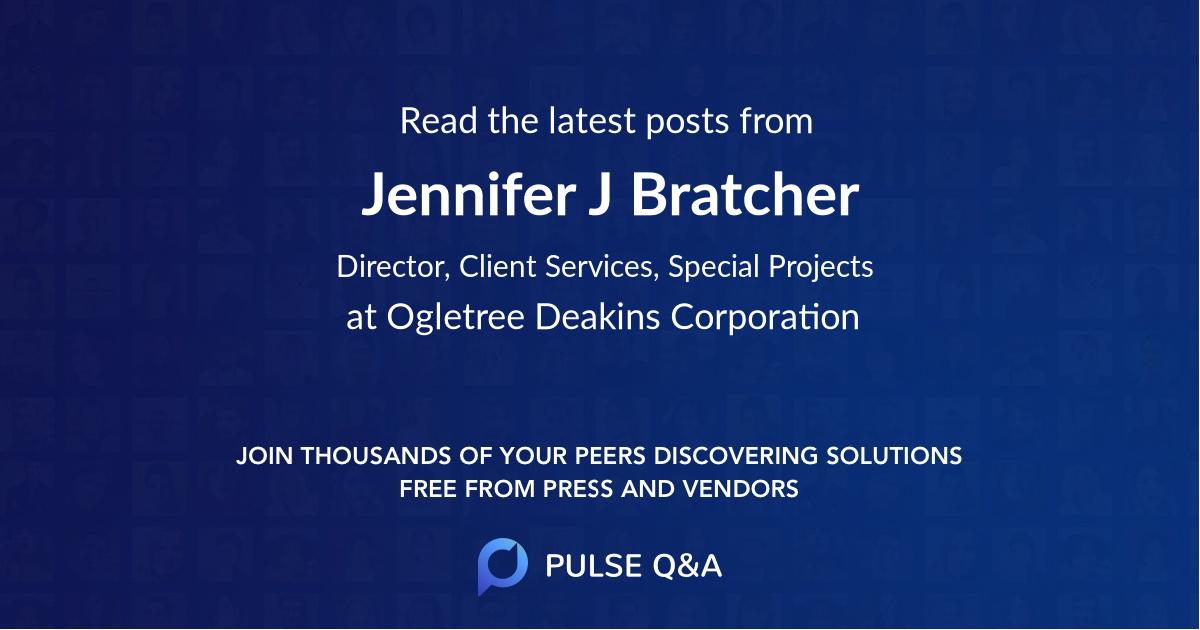 Jennifer J. Bratcher