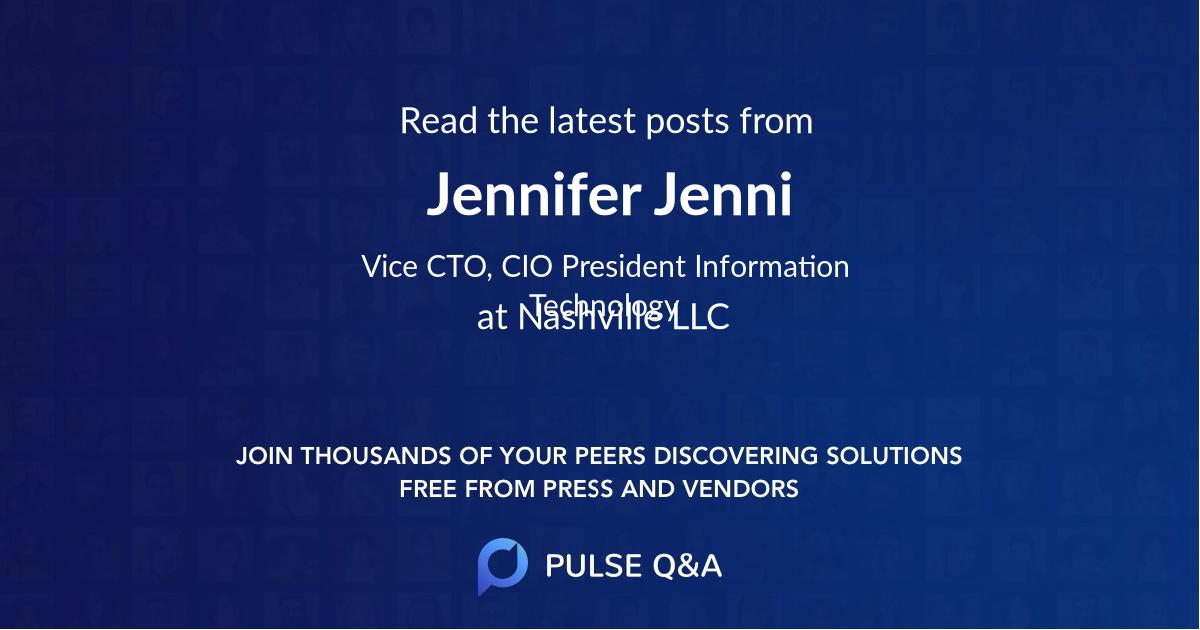 Jennifer Jenni