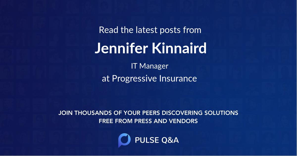 Jennifer Kinnaird