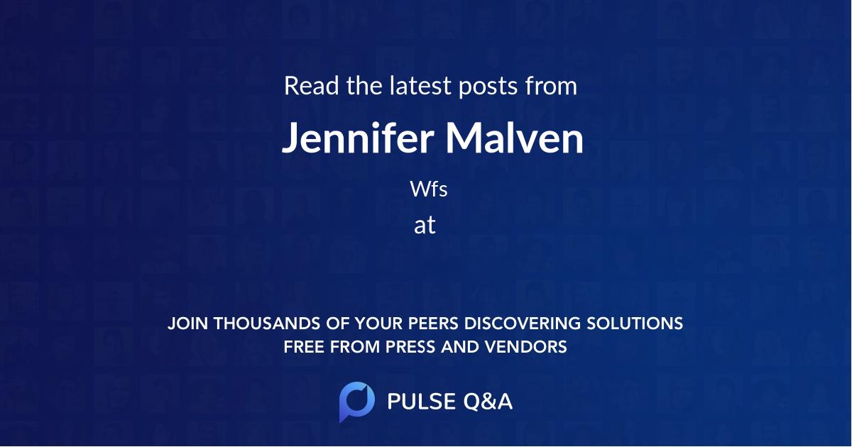 Jennifer Malven