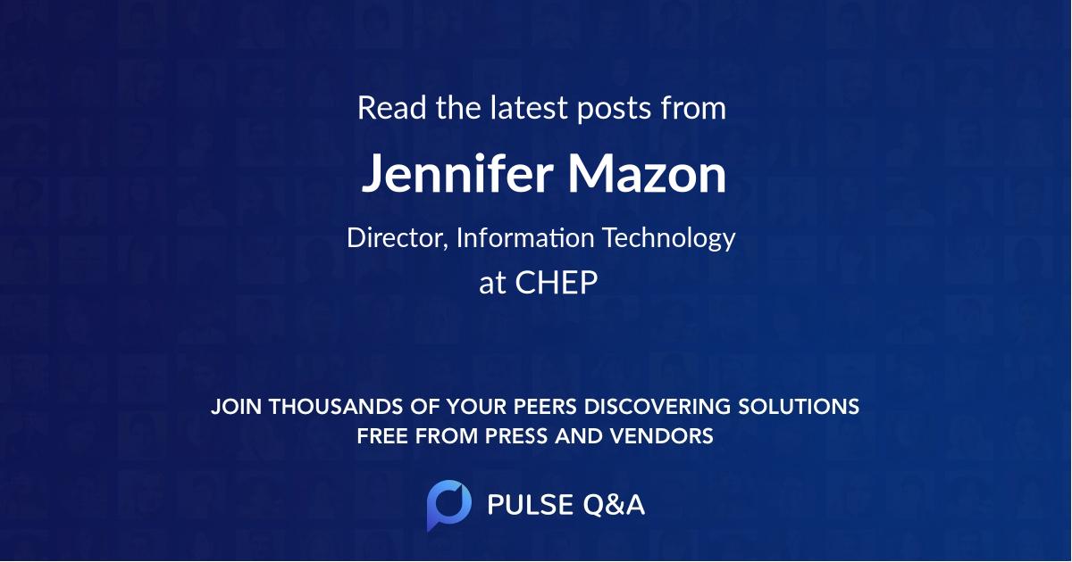 Jennifer Mazon