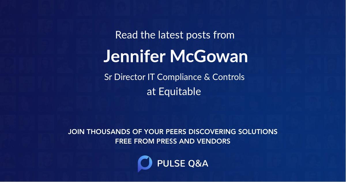 Jennifer McGowan