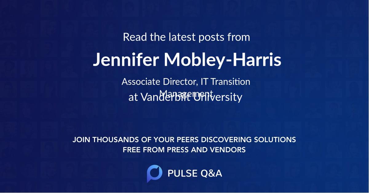 Jennifer Mobley-Harris