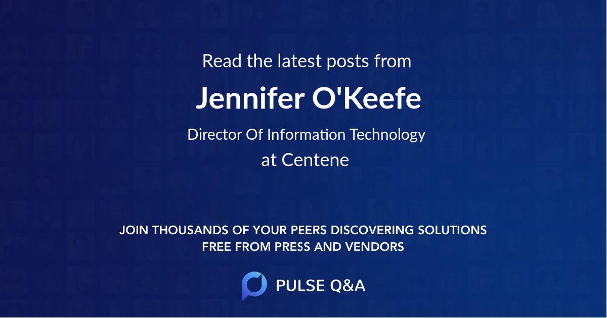 Jennifer O'Keefe
