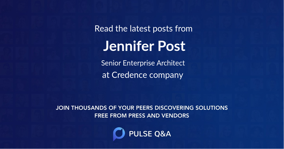 Jennifer Post