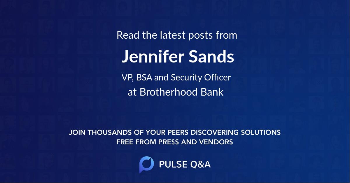 Jennifer Sands
