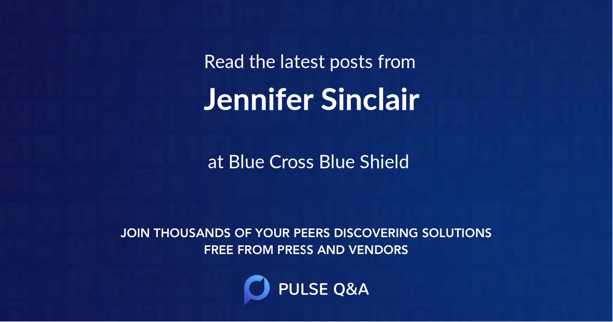 Jennifer Sinclair