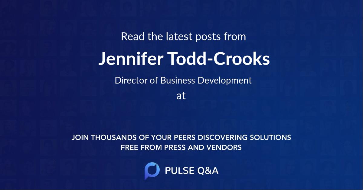 Jennifer Todd-Crooks