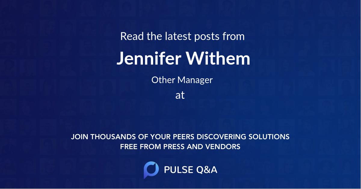 Jennifer Withem