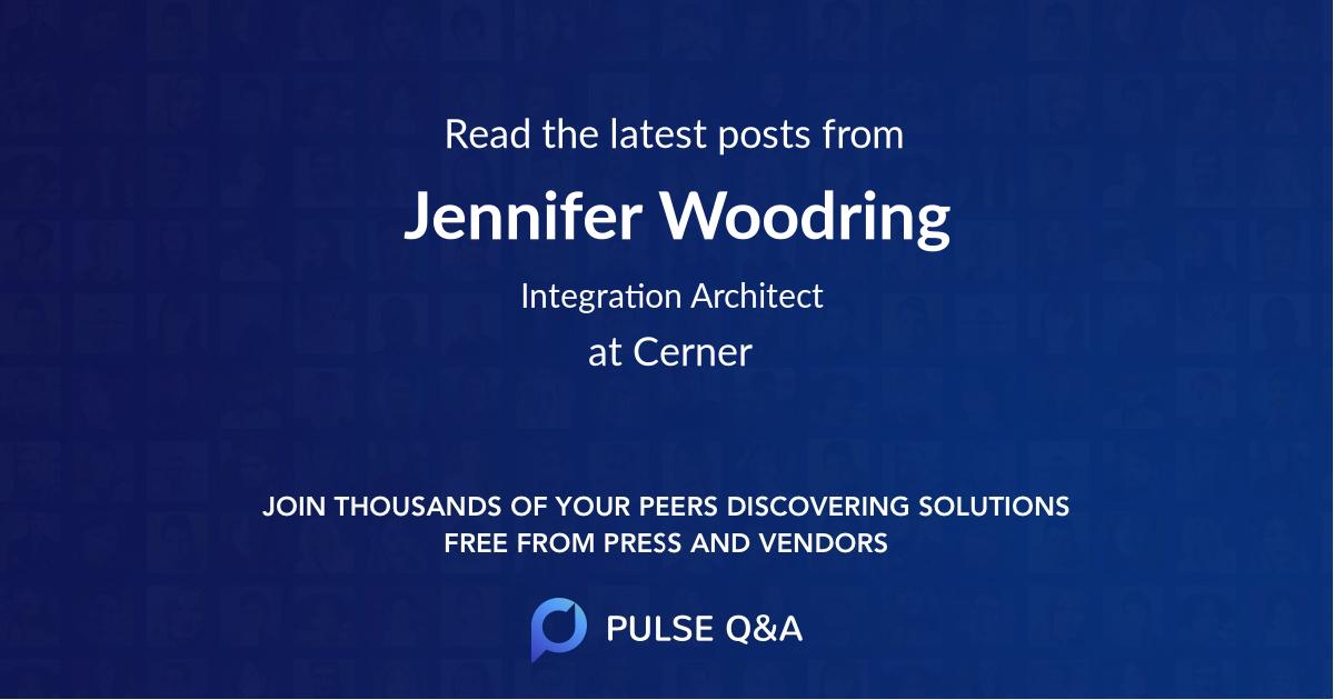 Jennifer Woodring