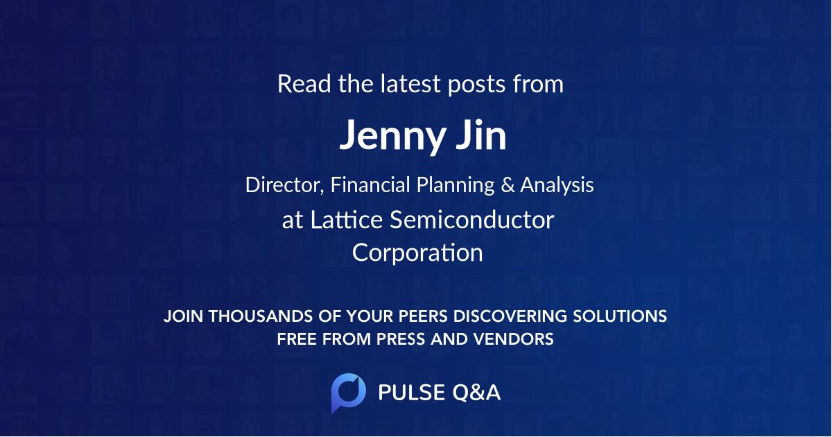 Jenny Jin