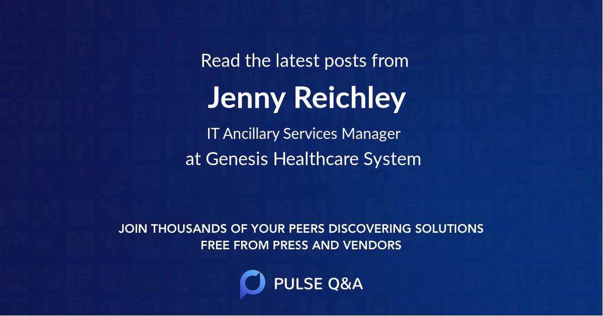 Jenny Reichley