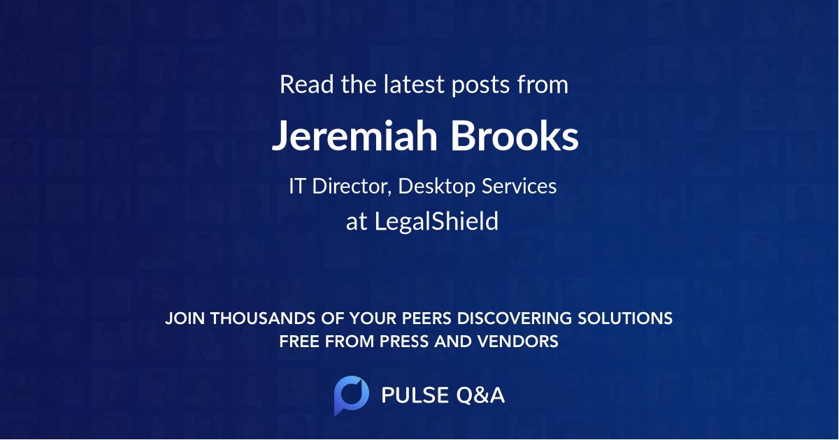 Jeremiah Brooks