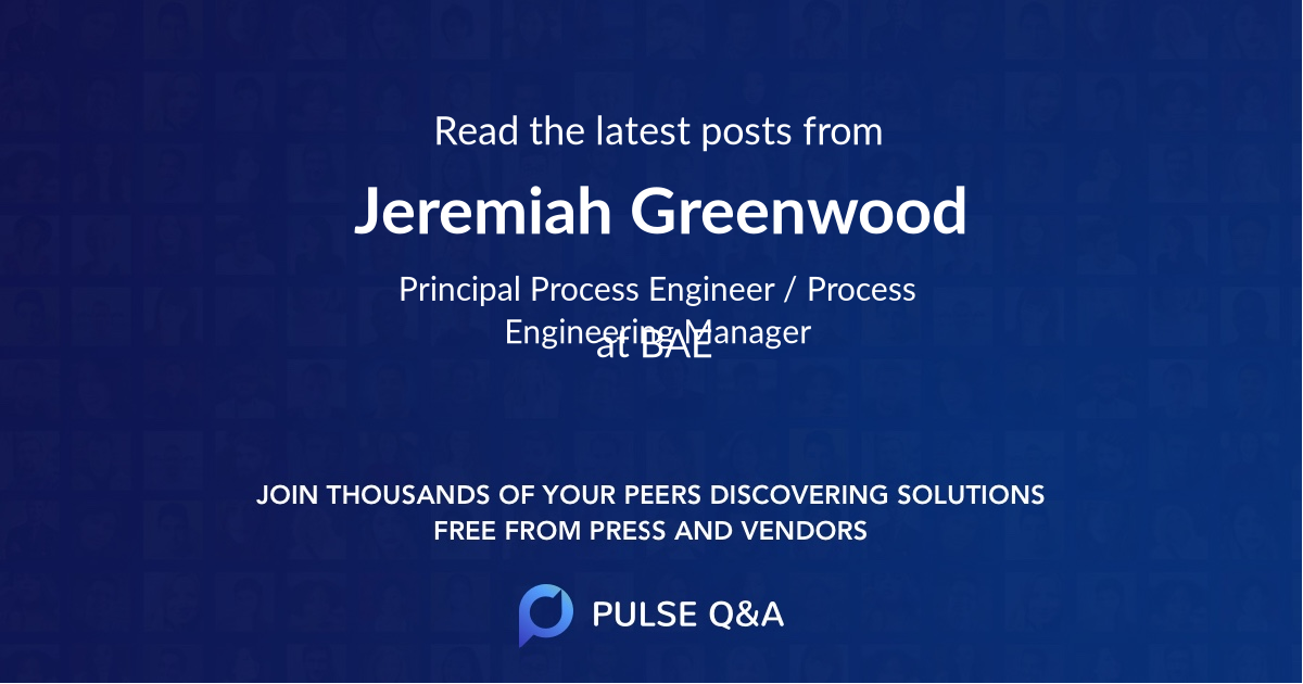 Jeremiah Greenwood