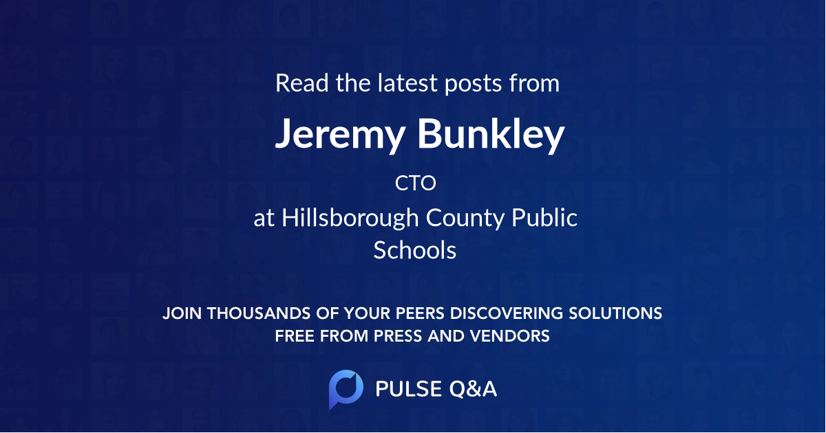 Jeremy Bunkley