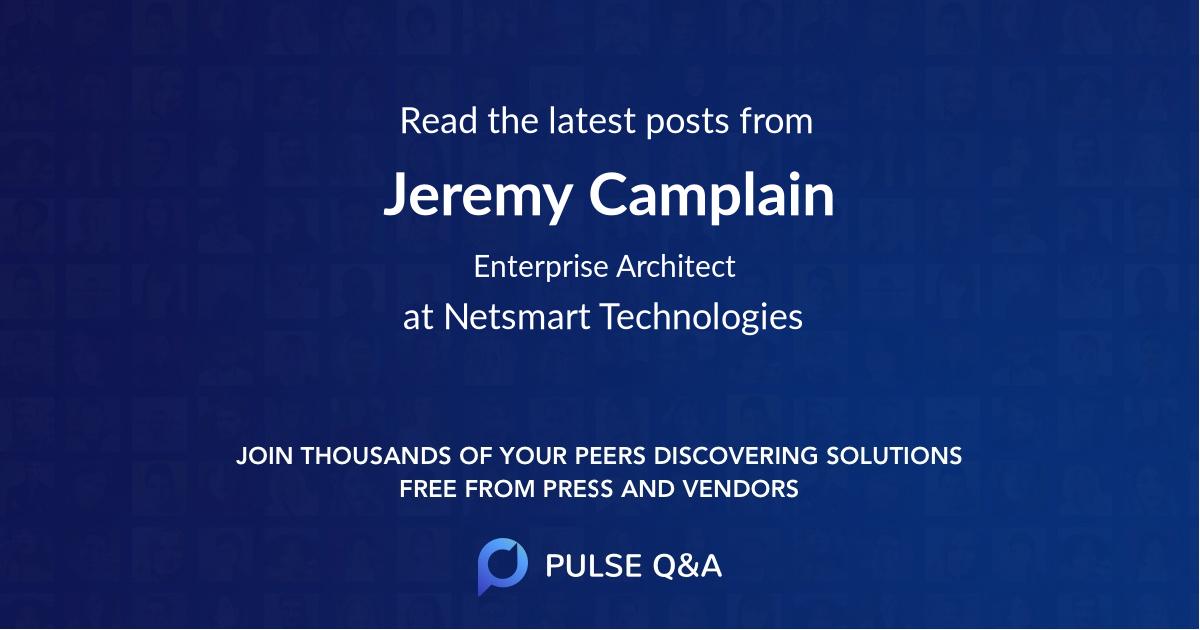 Jeremy Camplain