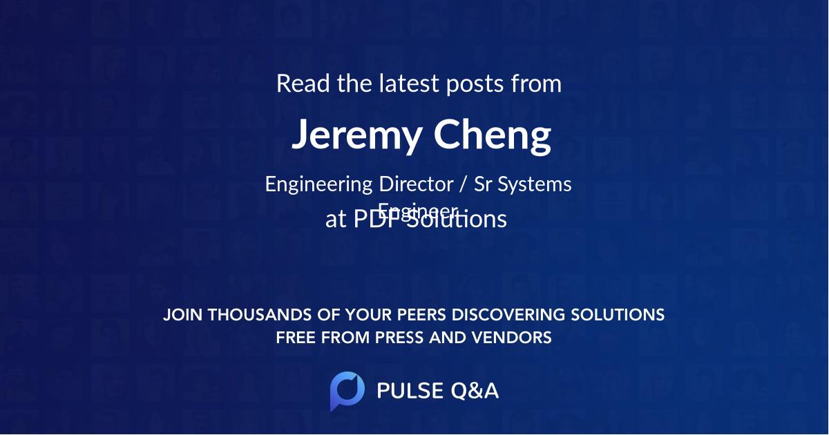 Jeremy Cheng