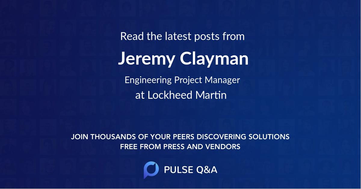 Jeremy Clayman
