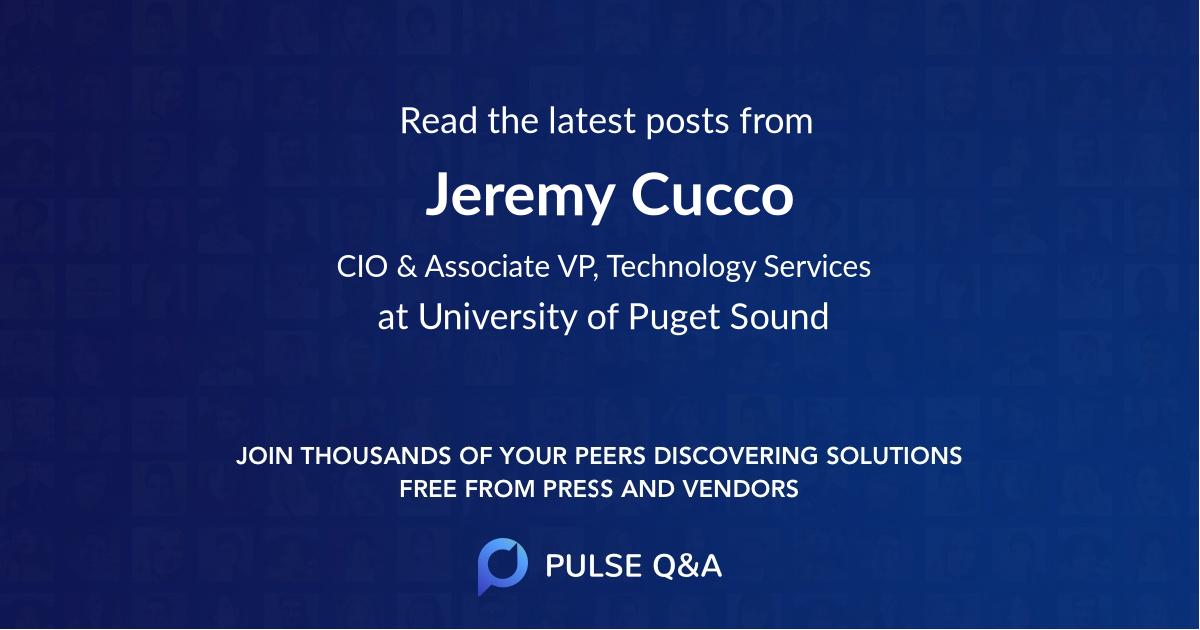 Jeremy Cucco
