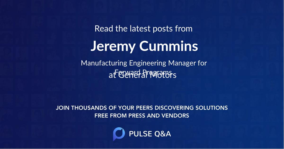 Jeremy Cummins