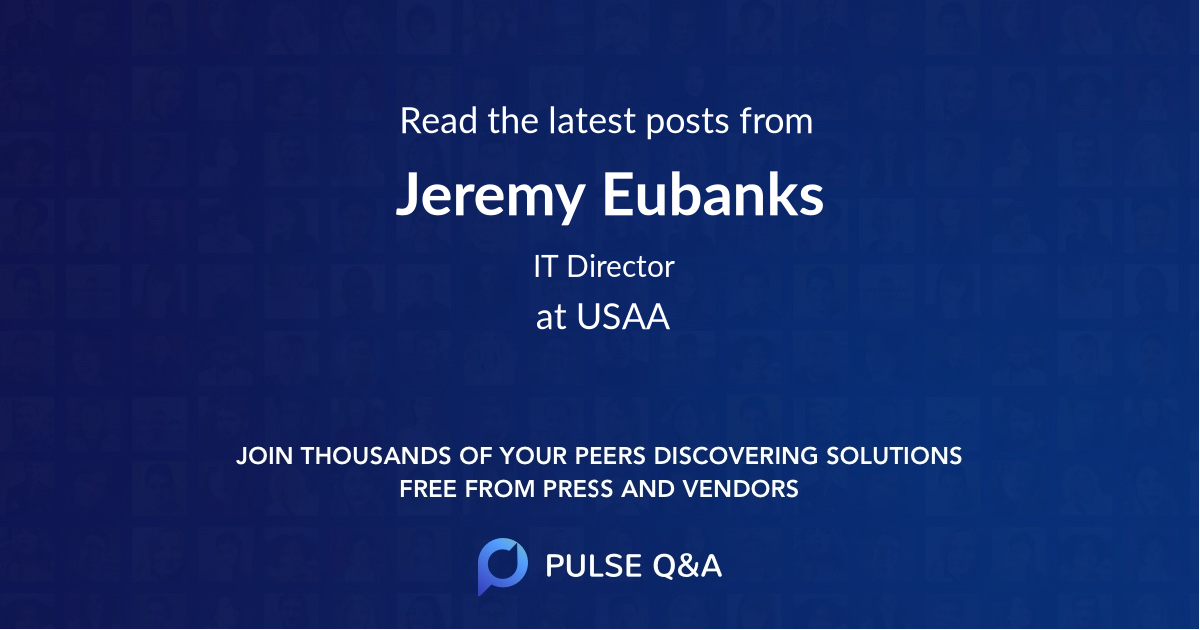 Jeremy Eubanks