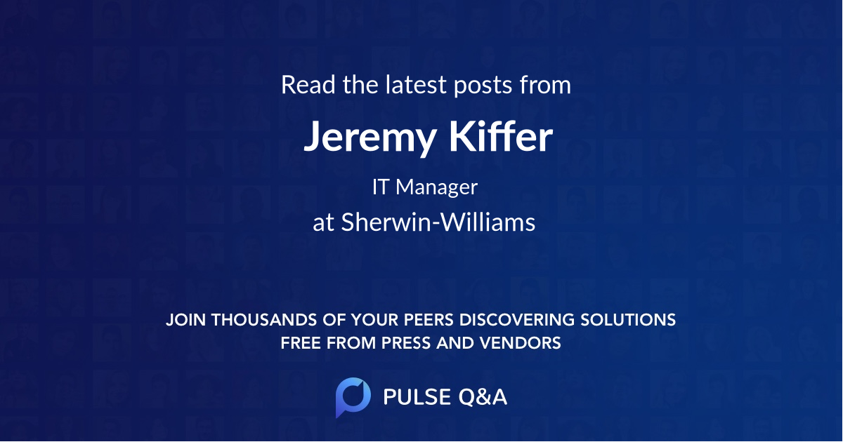 Jeremy Kiffer