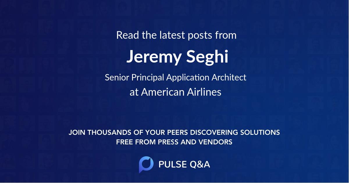 Jeremy Seghi