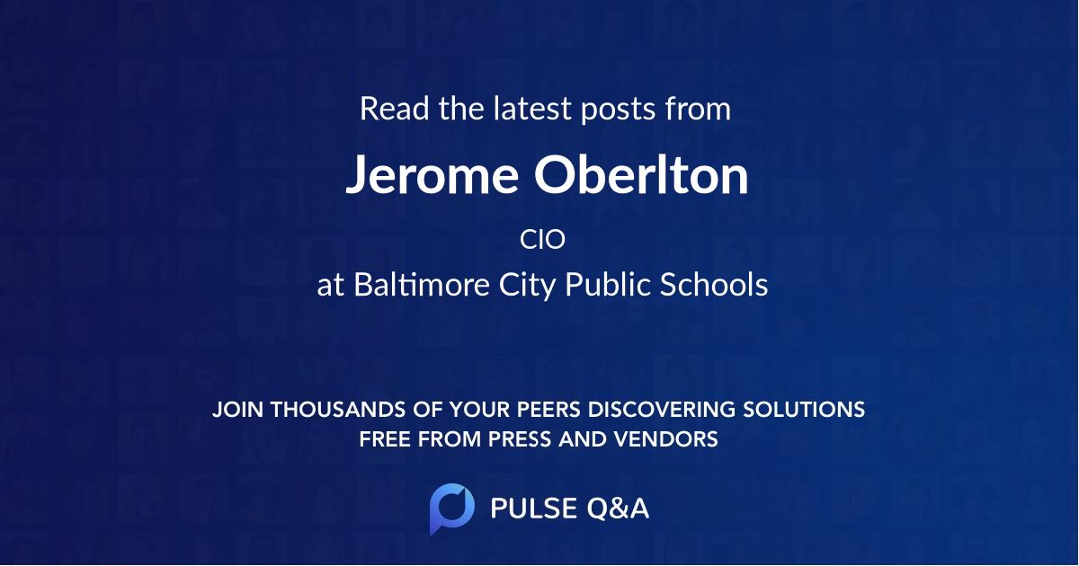 Jerome Oberlton