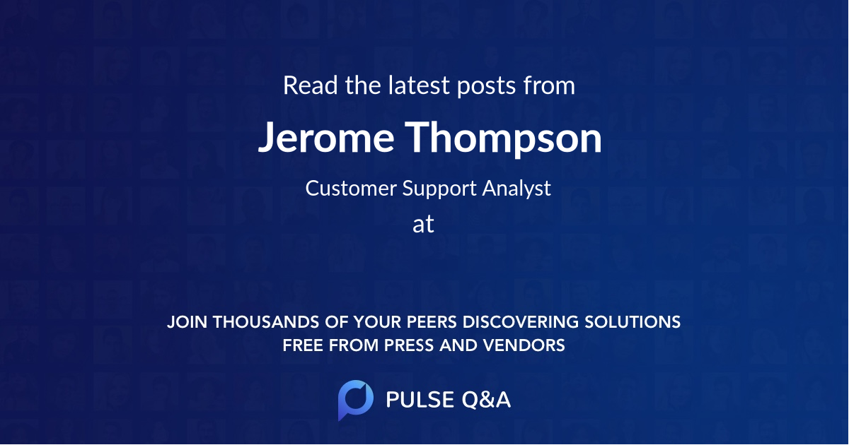 Jerome Thompson