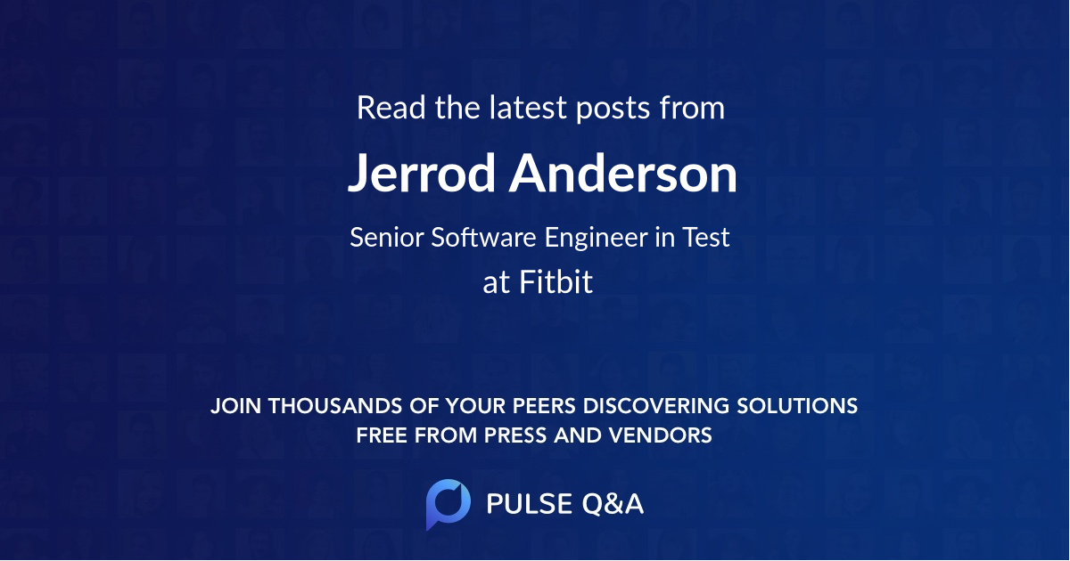 Jerrod Anderson