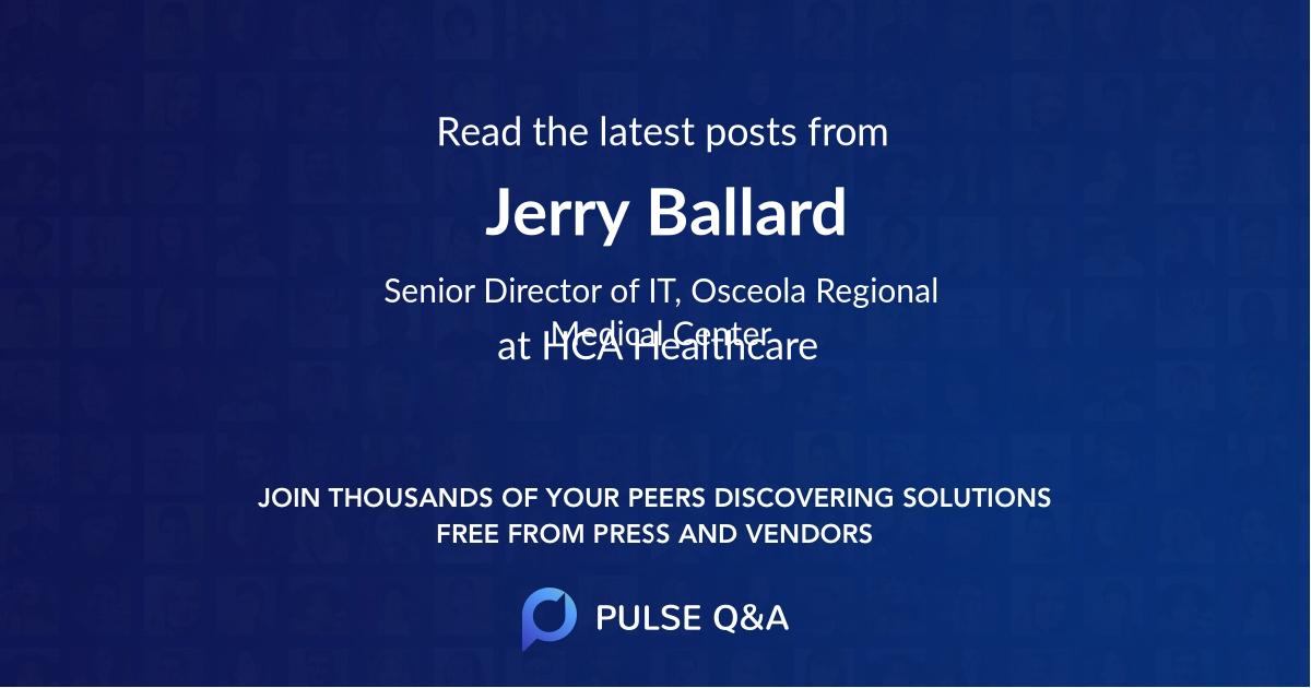 Jerry Ballard