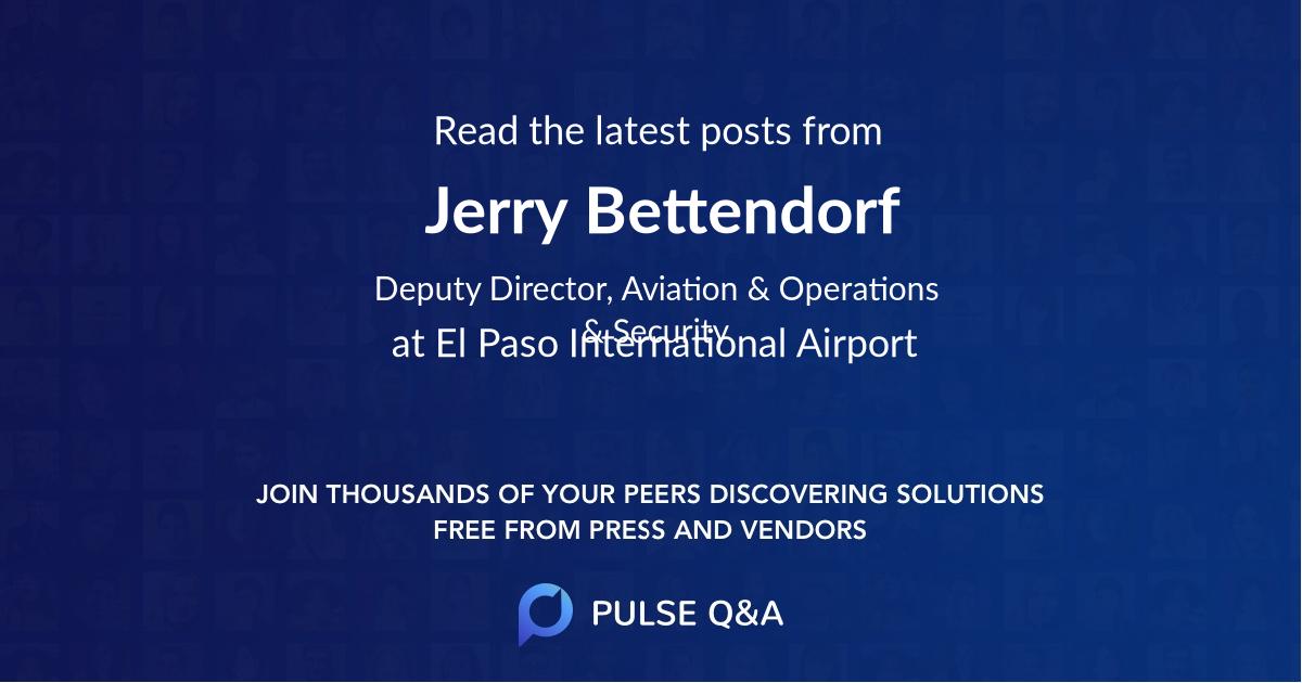 Jerry Bettendorf