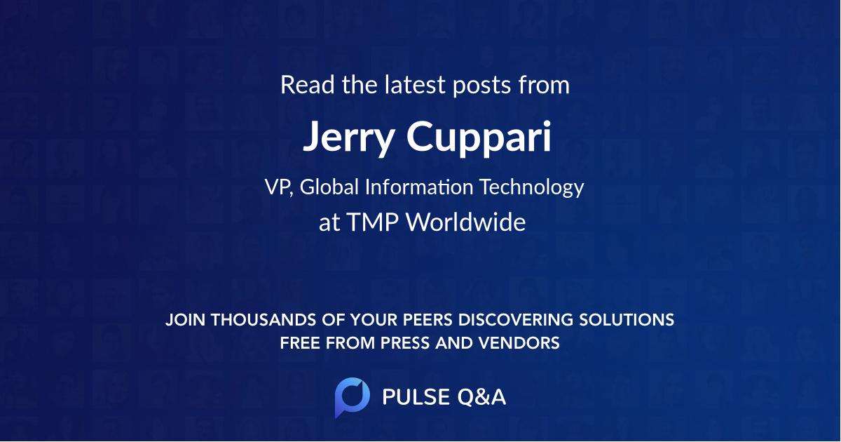 Jerry Cuppari