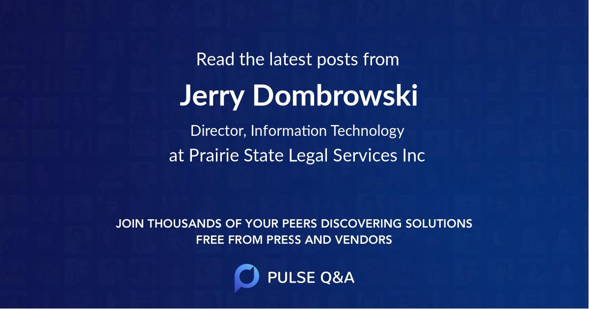 Jerry Dombrowski