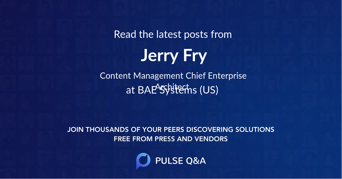 Jerry Fry
