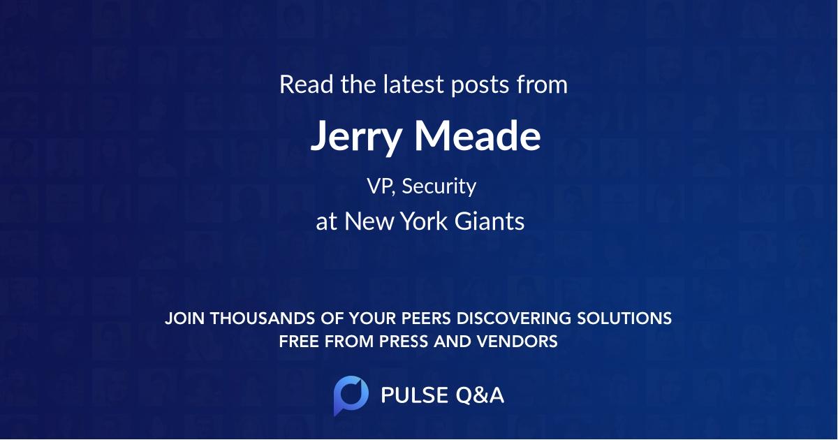 Jerry Meade