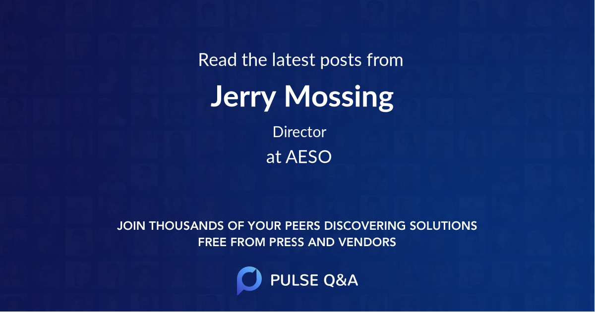 Jerry Mossing