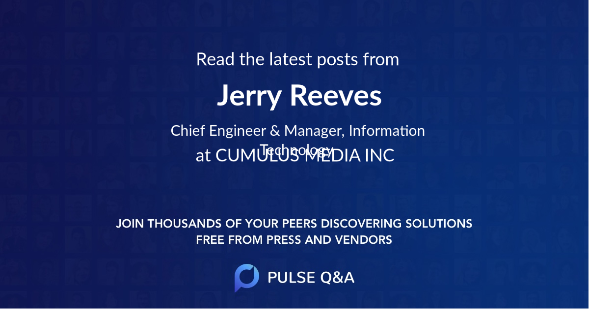 Jerry Reeves