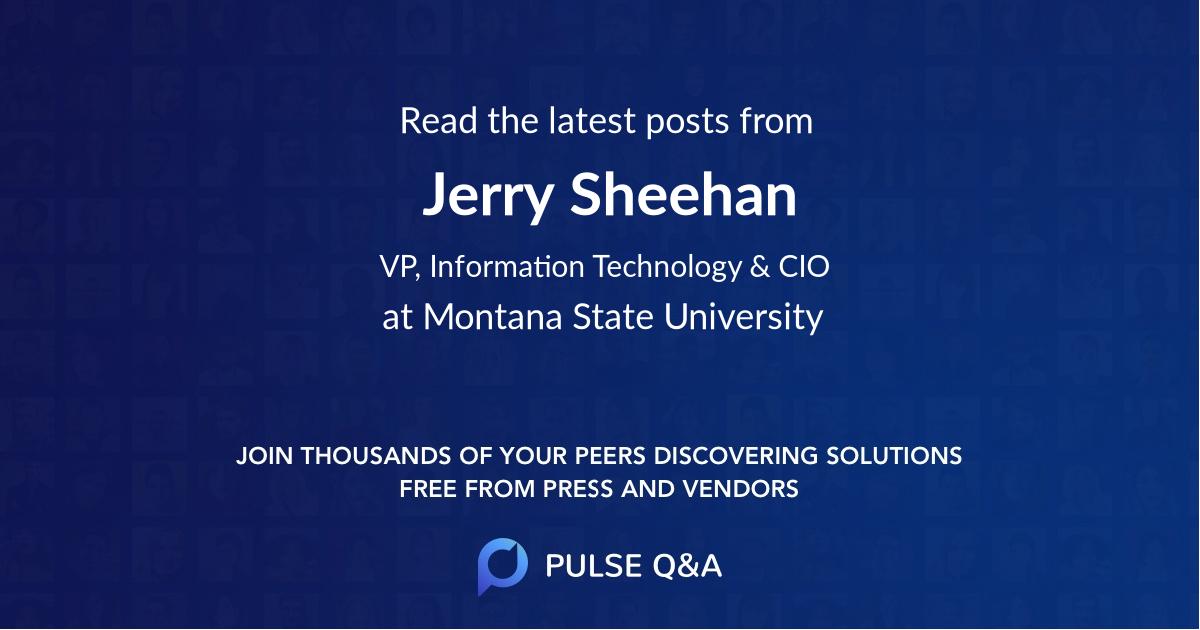 Jerry Sheehan