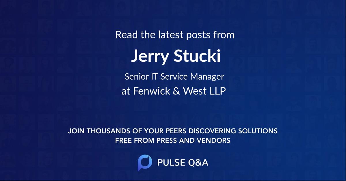 Jerry Stucki