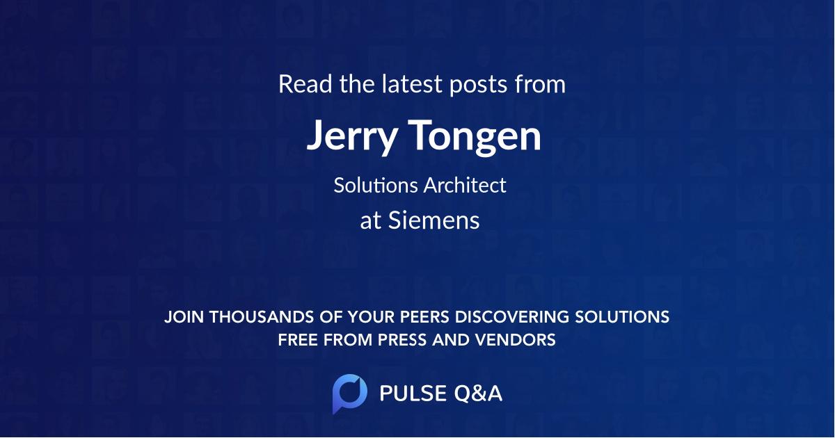 Jerry Tongen