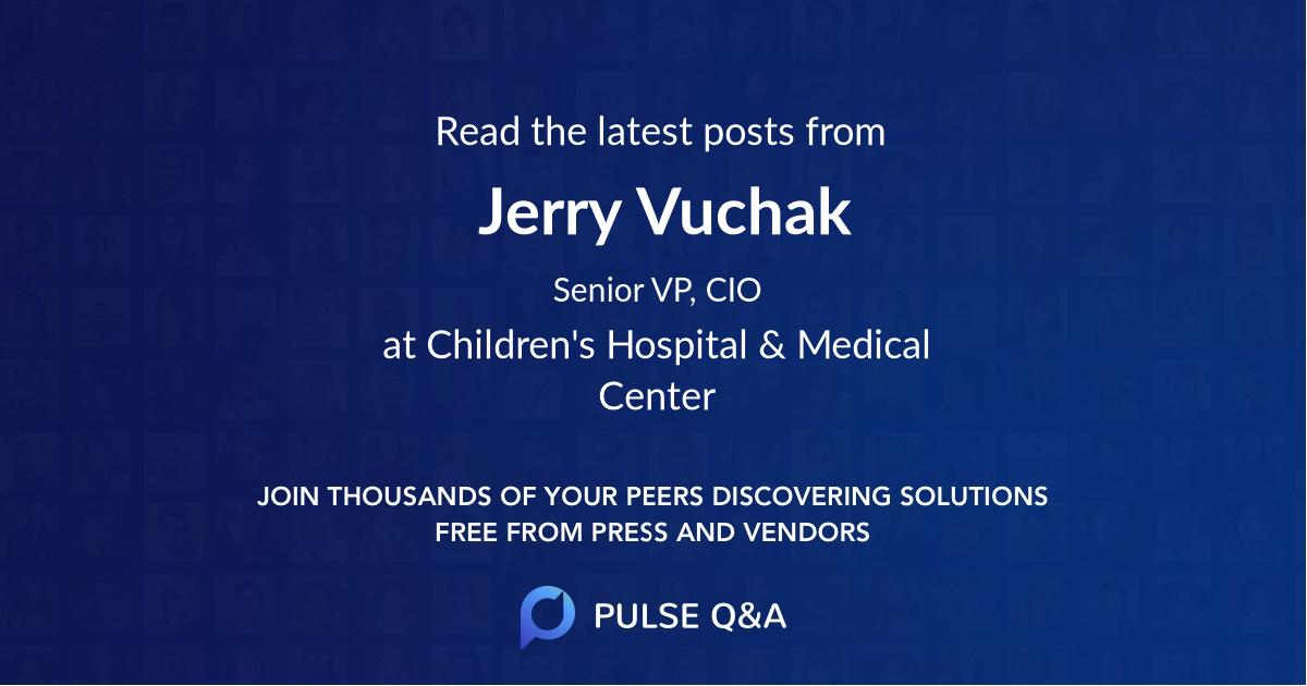 Jerry Vuchak