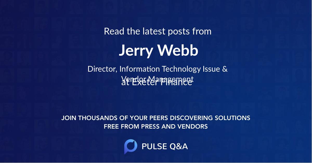 Jerry Webb