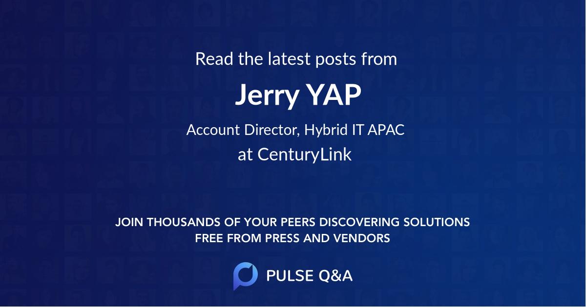 Jerry YAP
